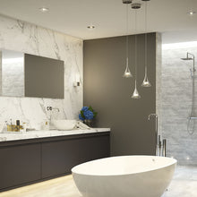 Load image into Gallery viewer, SENSIO | Zirconia IP44 chrome finish LED bathroom pendant - Bathroom Trend