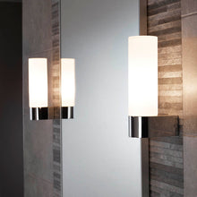 Load image into Gallery viewer, SENSIO | Erin chrome finish single LED wall light - Bathroom Trend