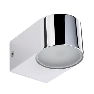 SENSIO | Madison up or down chrome finish LED wall light - Bathroom Trend