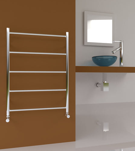 Midi Flat 600-5 Bar 600mm x 810mm Stainless Steel Towel Rail