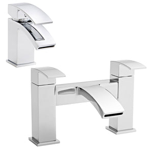 Flair collection tap and mixer sets - Bathroom Trend