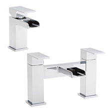 Load image into Gallery viewer, Phase collection basin taps and bath mixer sets - Bathroom Trend