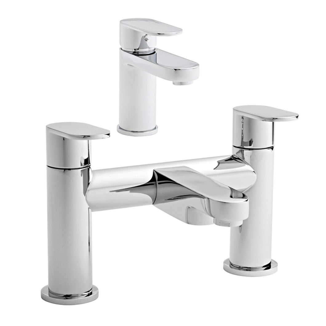 Logik collection basin taps & bath mixer sets - Bathroom Trend