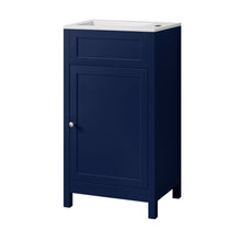 Load image into Gallery viewer, Traditional shaker style cloakroom vanity unit with ceramic basin