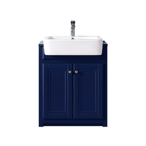 Traditional 600mm belfast vanity unit & ceramic basin