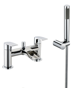 Merion | Bath shower mixer complete with shower kit