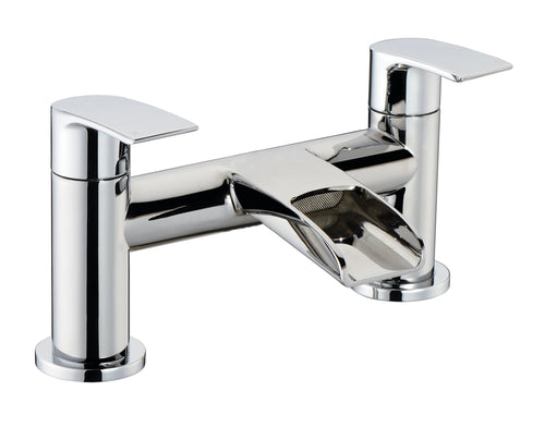 Merion | Chrome bath filler