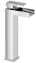 Load image into Gallery viewer, Warley | Modern chrome finish tall square waterfall tap (Waste included)