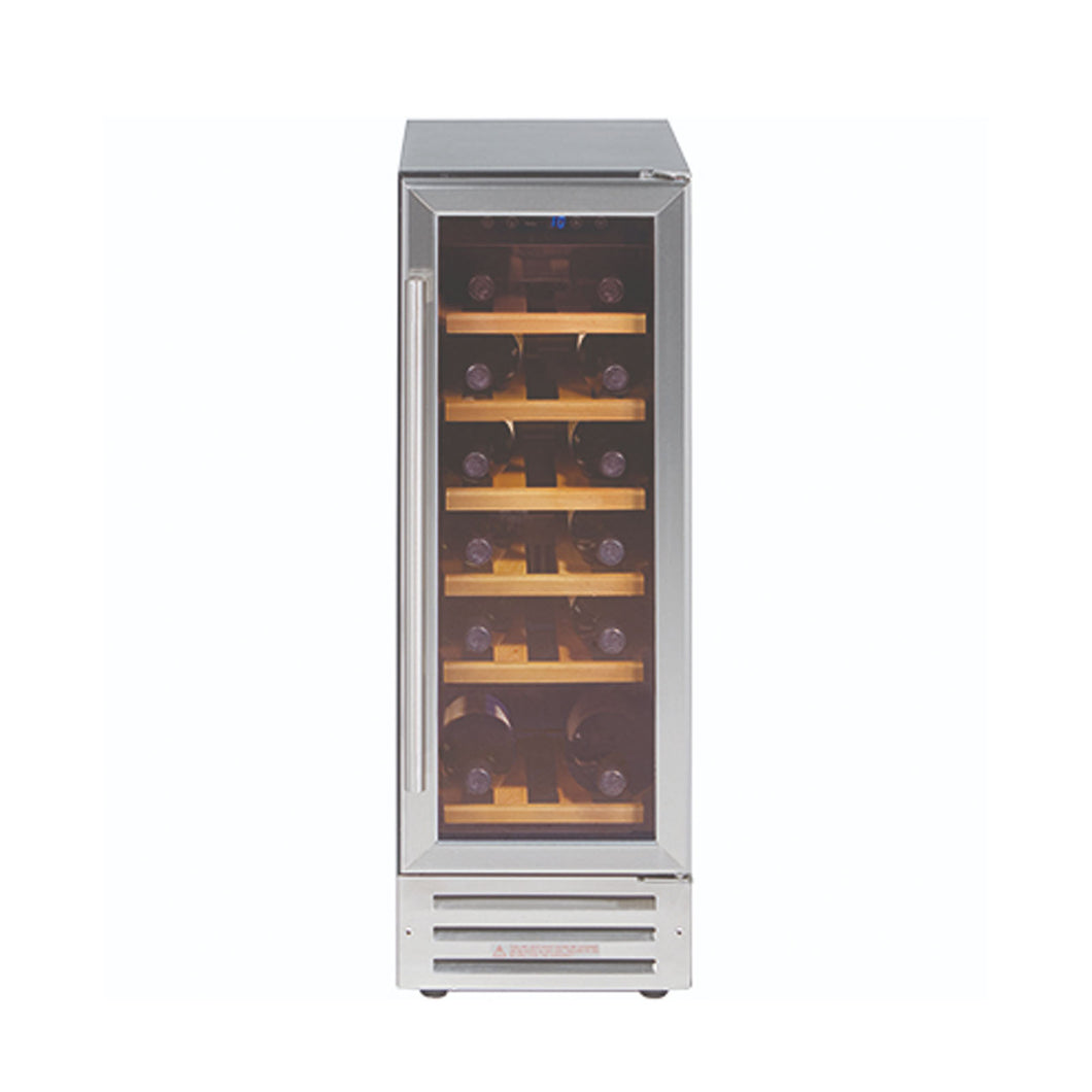 BELLING | Integrated 18 bottle capacity wine cooler - Bathroom Trend