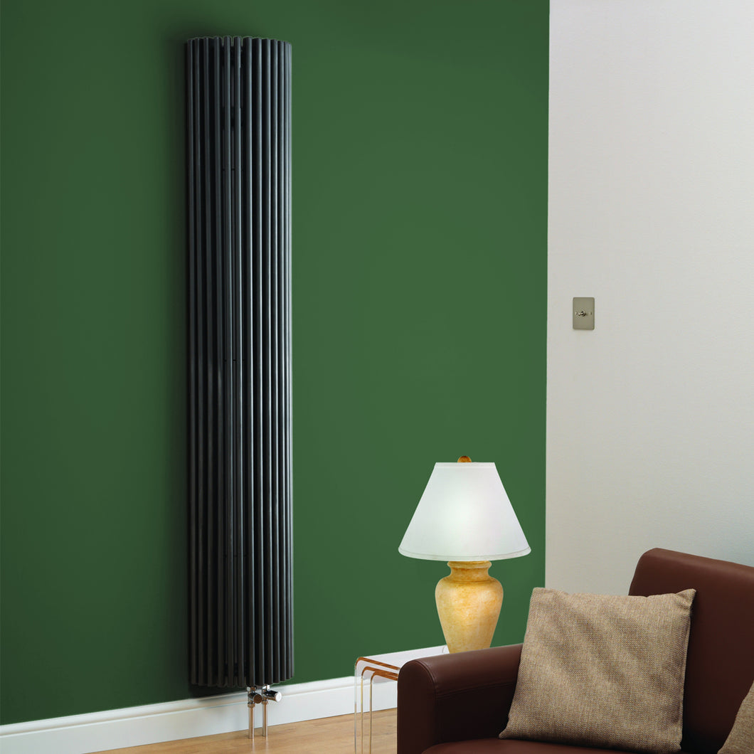 Cincinnati Antracite Vertical Designer Radiator - Bathroom Trend