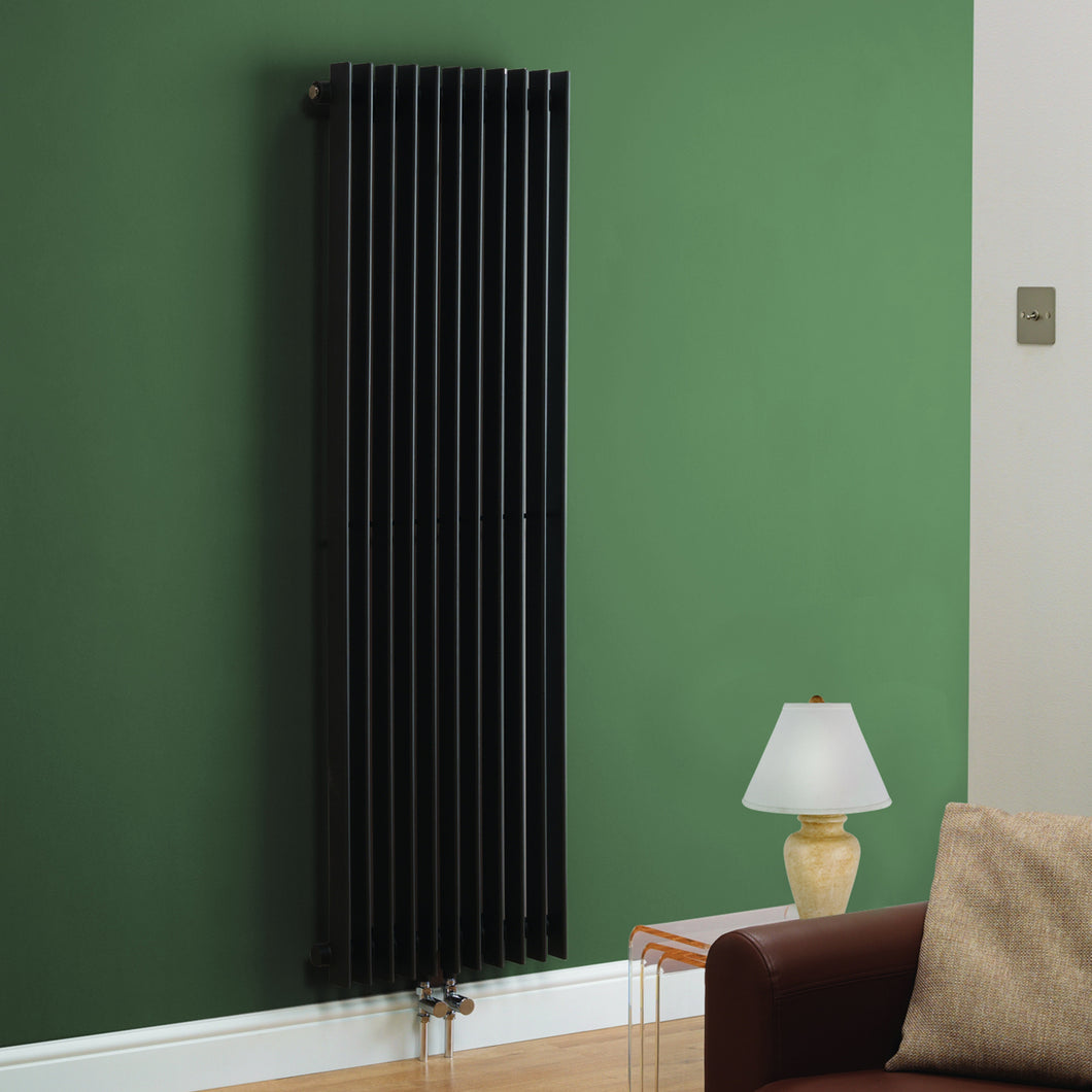 Los Angeles Anthracite Designer Radiator - Bathroom Trend
