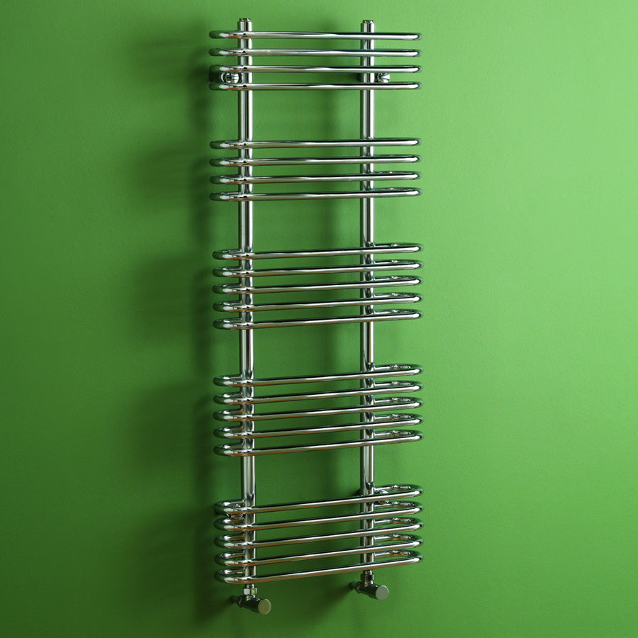 Oakland Chrome Towel Rail - Bathroom Trend