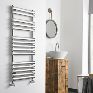 Ohio designer heated towel rail - Bathroom Trend