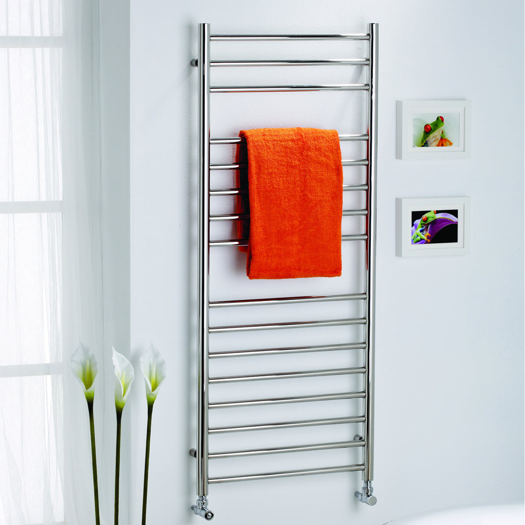 Orlando Stainless Steel Designer Towel Rail - Bathroom Trend