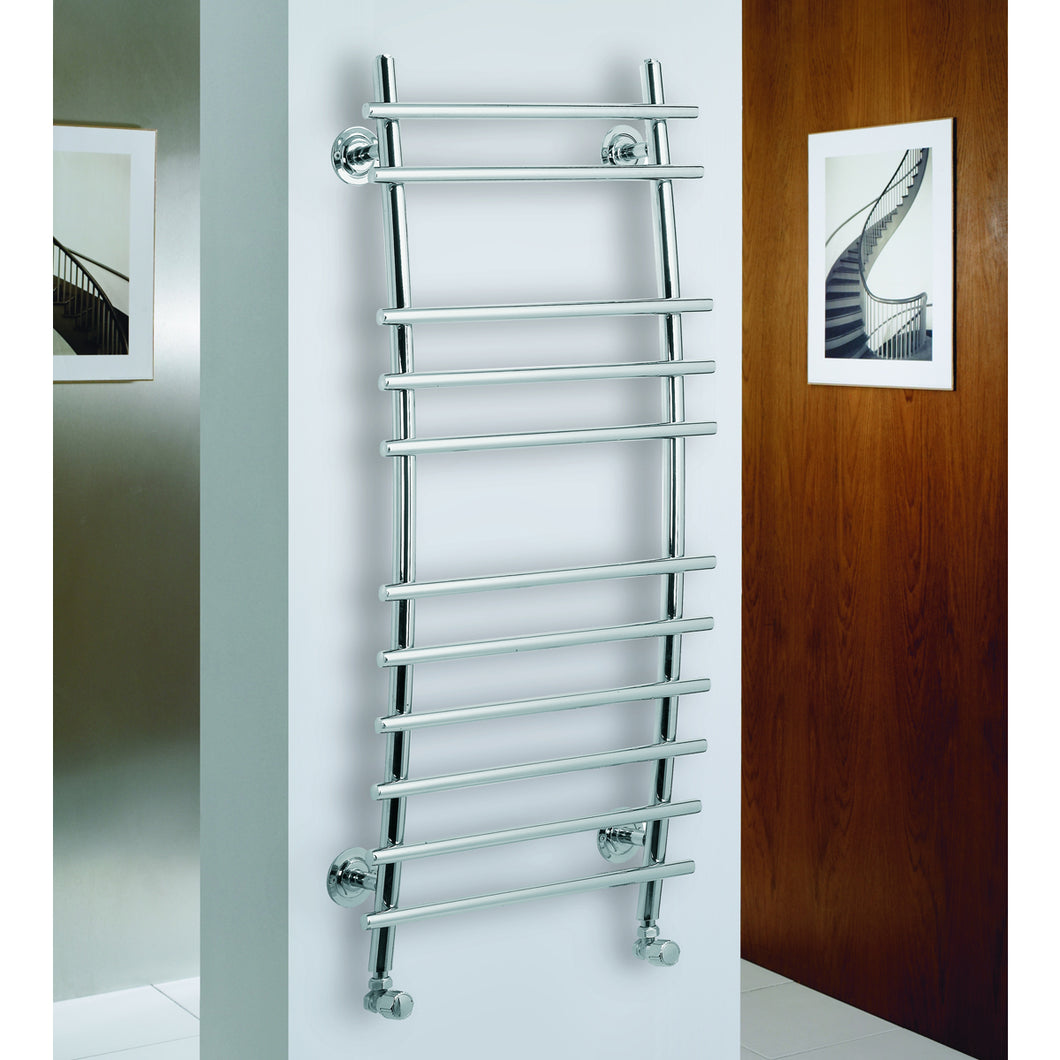Phoenix designer heated towel rail - Bathroom Trend