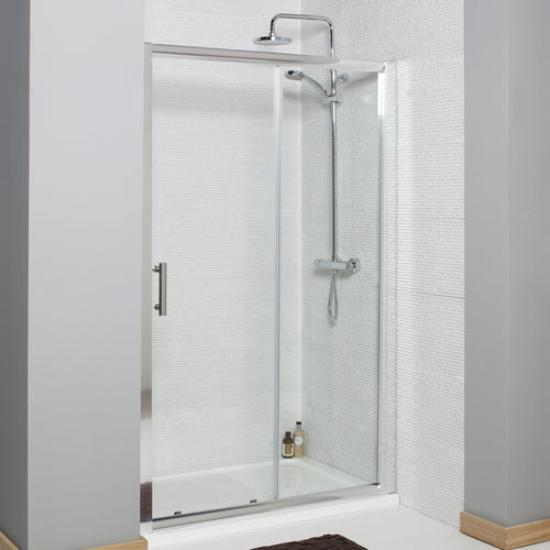 Koncept 6mm sliding shower door - Bathroom Trend