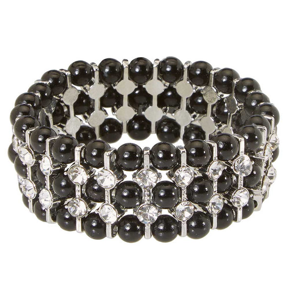 Atlantic Opera Bracelet, Black
