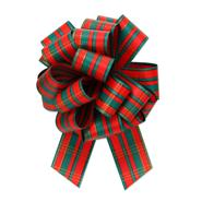 #9 Pefect Bow - Tartan Red