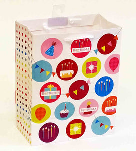 "4 x 7 x 9"" Birthday Gift Bag"
