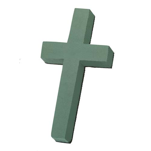 OASIS® Floral Foam Shape, Cross - 12