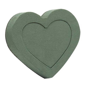 "6 1/2"" OASIS® Floral Foam Shape, Heart"