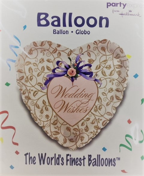 Wedding Wishes Balloon