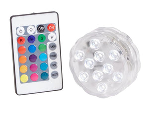 "2 3/4"" Waterproof LED Accent Light, Clear"