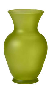 "11"" Bouquet Vase, Apple Green Matte"