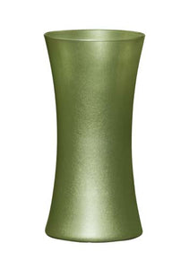 "8"" Gathering Vase, Apple Green Ice"