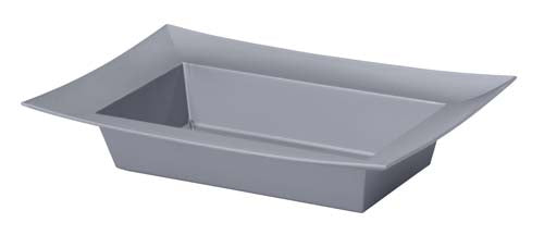 ESSENTIALS™ Rectangle Bowl, Silver