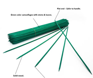 "24"" Premium Wood Stakes - Green"