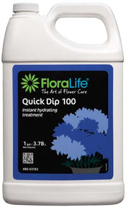 Floralife® Quick Dip 100 Instant hydrating treatment, 1 gallon