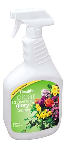 Floralife® Clear Crowning Glory® Solution, 32 ounce