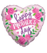 "18"" Happy Mother's Day Roses and Banner Balloon"