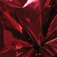 "Krystalphane® Metallized Sheets - 18x30""(100) - Cranberry"