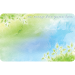 So Sorry For Your Loss Watercolor Enclosure Card