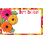 Birthday Gerberas Enclosure Card