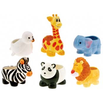 Assorted Zoo Planters