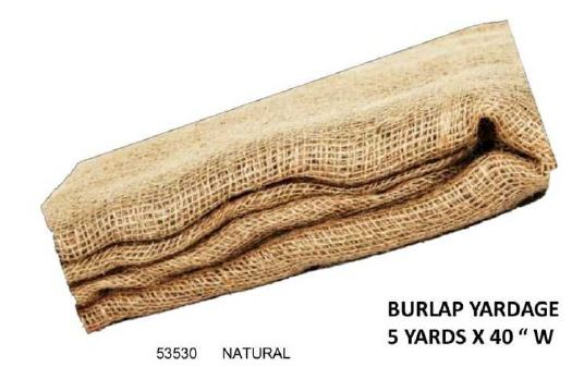 Natural Burlap Yardage