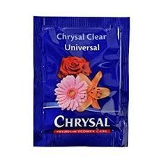 Chrysal Clear Universal Flower Food 5 gr Dispenser x 200 pk