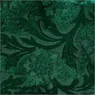 Poly Embossed Foil Hunter Green