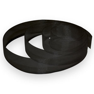 "5/8"" Organza Ribbon - Black"