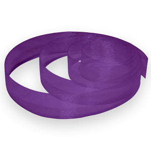 "7/8"" Organza Ribbon - Purple"