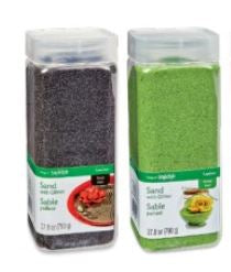 Sand with Glitter - Green