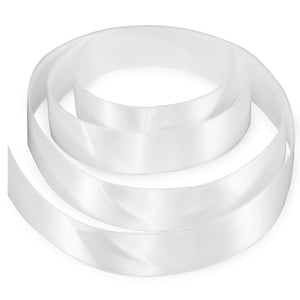 "3/8"" Satin Ribbon - White"