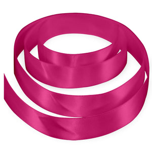 "3/8"" Satin Ribbon - Hot Pink"