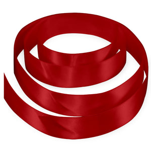 "3/8"" Satin Ribbon - Red"