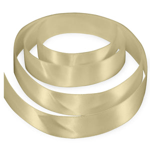 "3/8"" Satin Ribbon - Ivory"