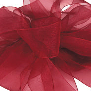 #3 Sheer Asiana Ribbon Burgundy