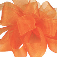 #9 Sheer Asiana Ribbon - Tropical Orange